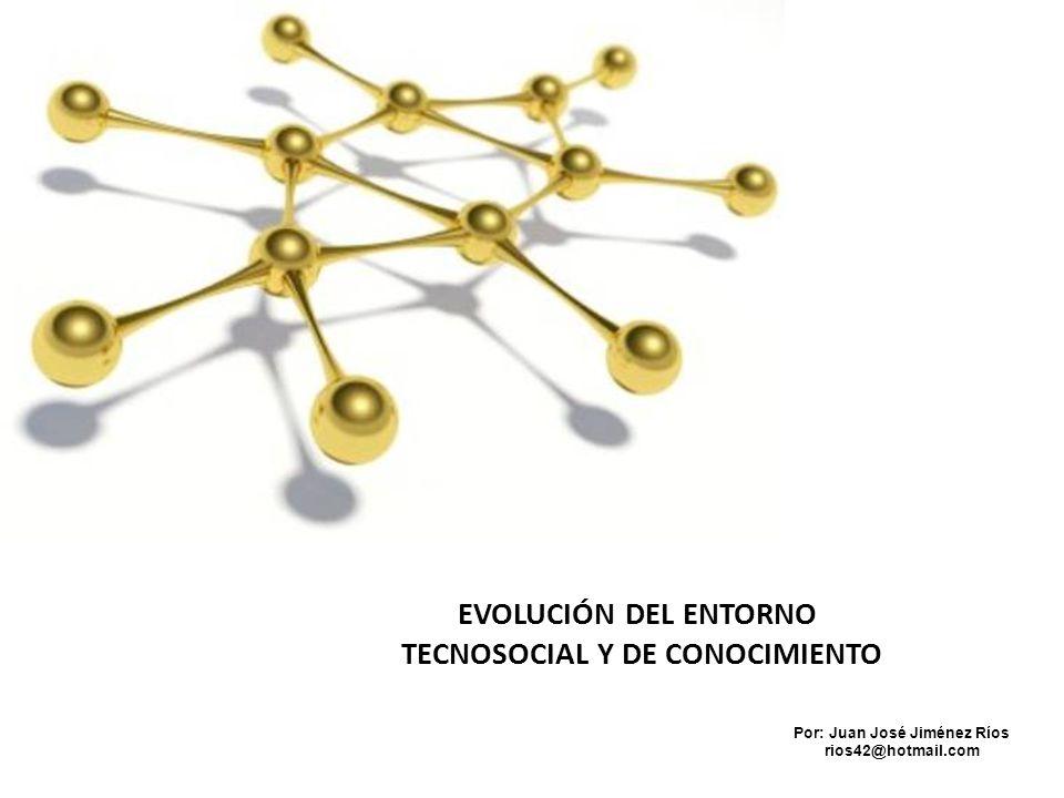 TECNOSOCIAL Y DE CONOCIMIENTO Por: Juan José Jiménez Ríos
