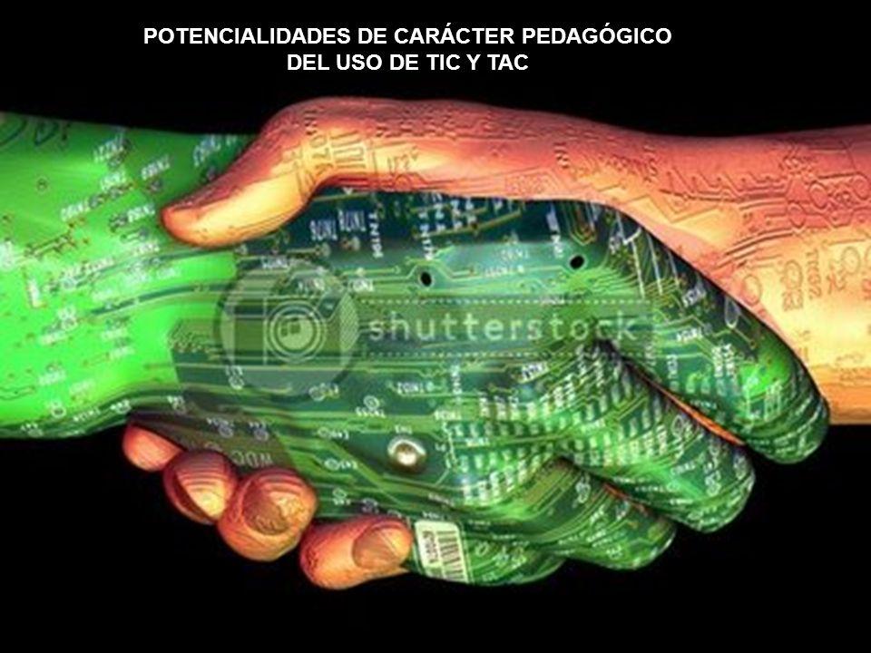 POTENCIALIDADES DE CARÁCTER PEDAGÓGICO
