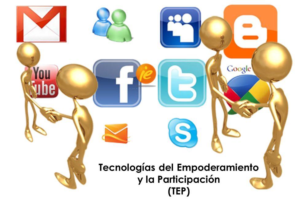 Tecnologías del Empoderamiento y la Participación (TEP)