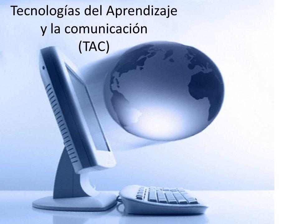 Tecnologías del Aprendizaje y la comunicación (TAC)