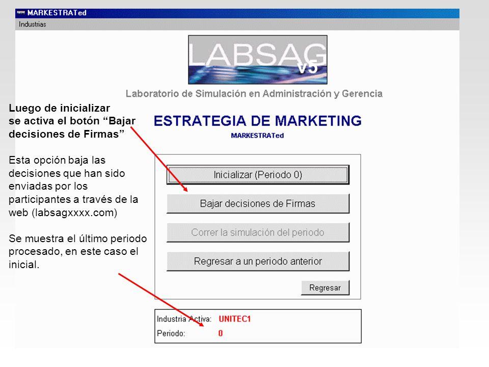 v5Luego de inicializar. se activa el botón Bajar decisiones de Firmas