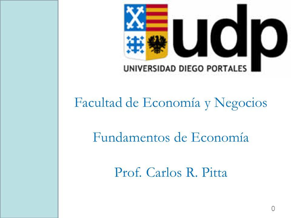 Facultad de Economía y Negocios Fundamentos de Economía