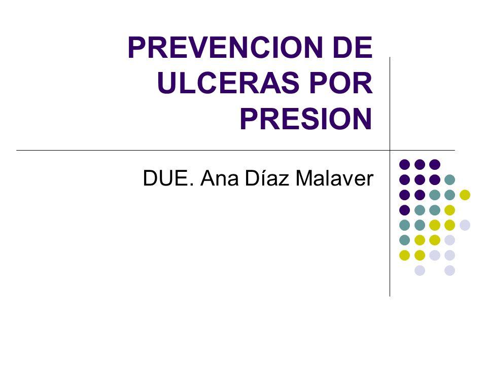 PREVENCION DE ULCERAS POR PRESION