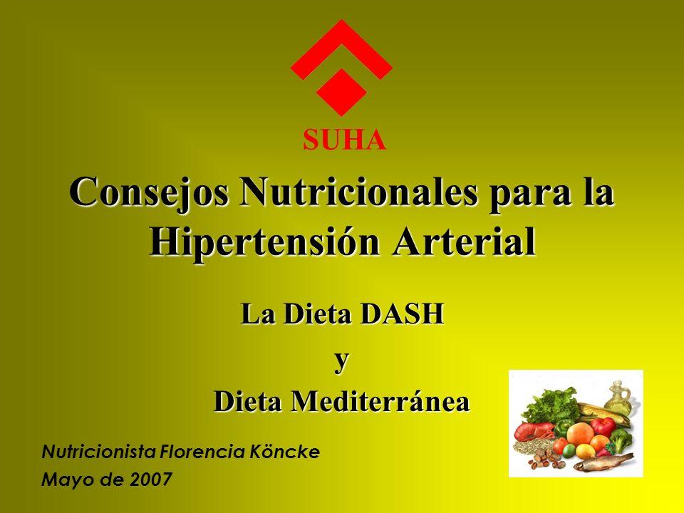 Consejos Nutricionales para la Hipertensión Arterial