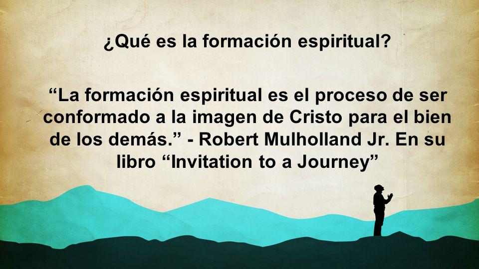 ¿Qué es la formación espiritual