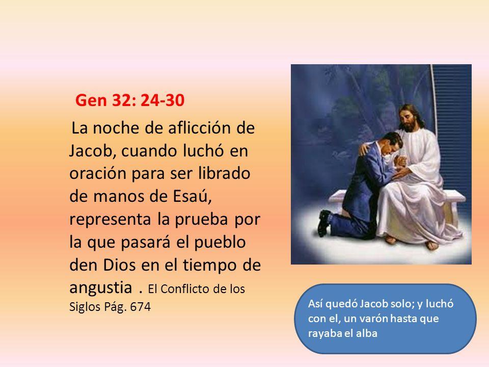 Gen 32: 24-30