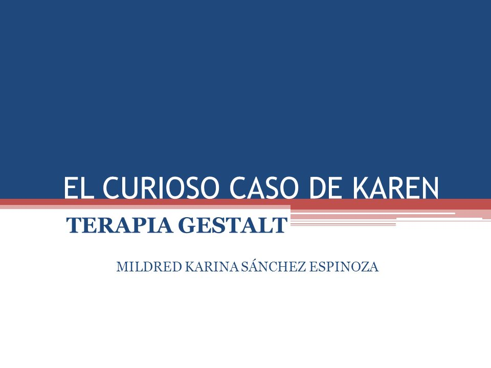 EL CURIOSO CASO DE KAREN