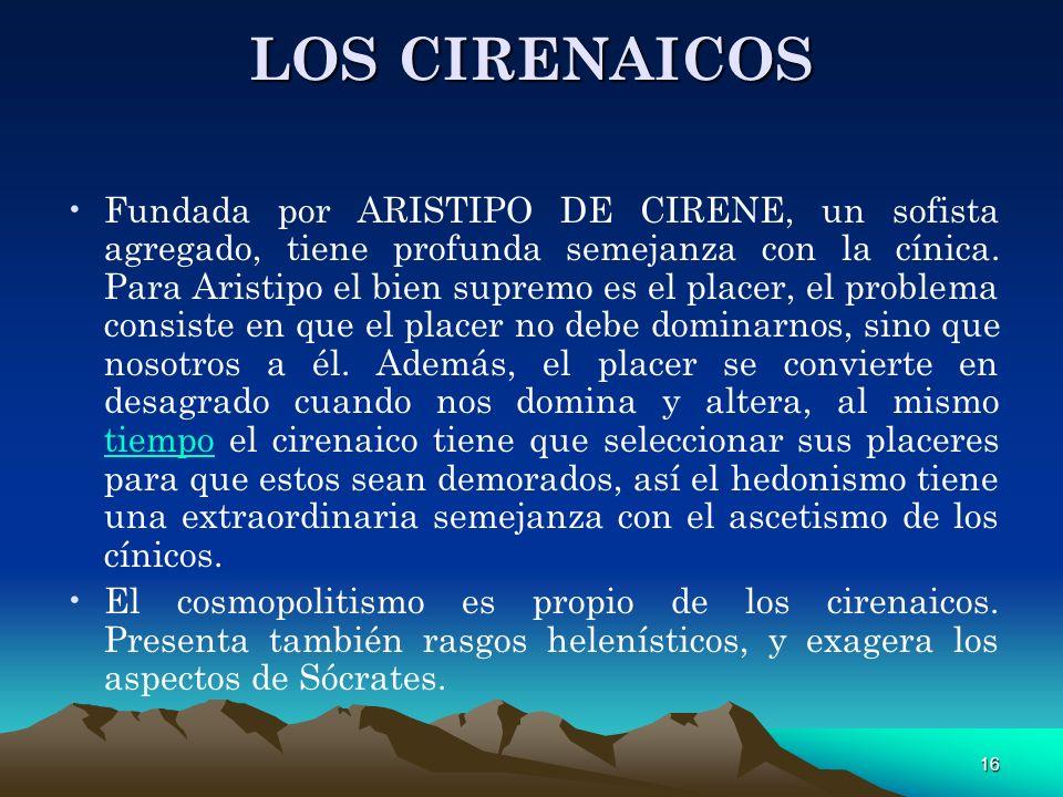 LOS CIRENAICOS