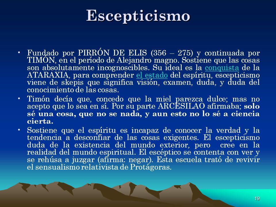 Escepticismo