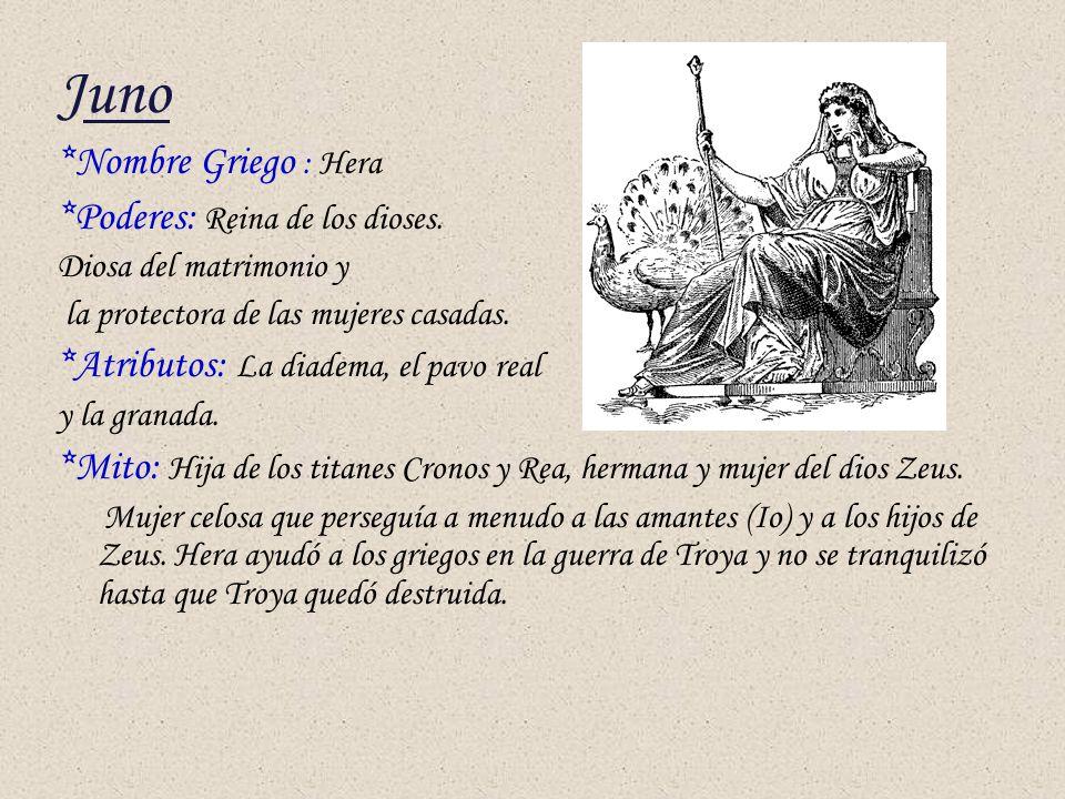 Analisis Del Matrimonio Romano Y El Actual : Divinidades romanas sergio marín sánchez º latín ppt