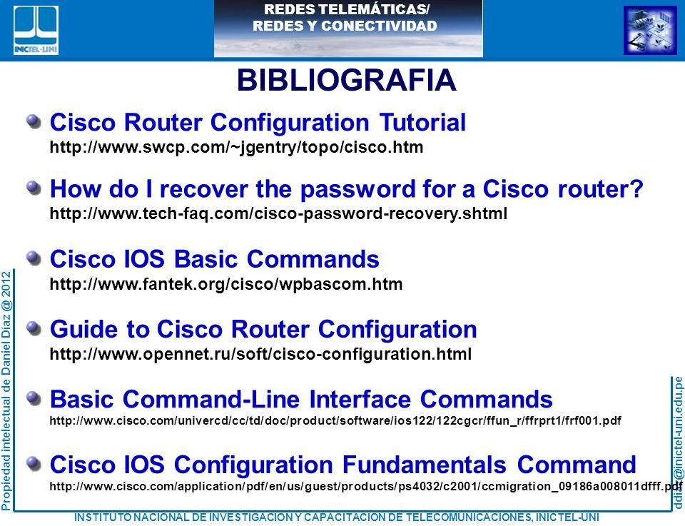 BIBLIOGRAFIA Cisco Router Configuration Tutorial
