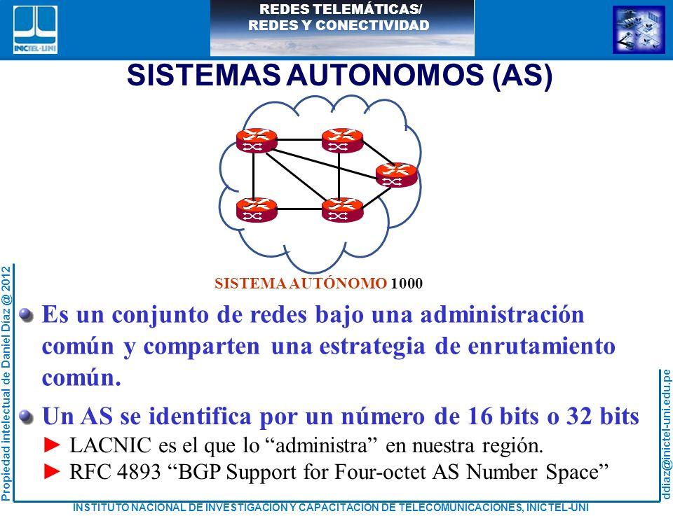 SISTEMAS AUTONOMOS (AS)