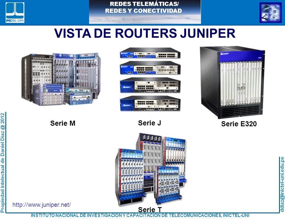 VISTA DE ROUTERS JUNIPER