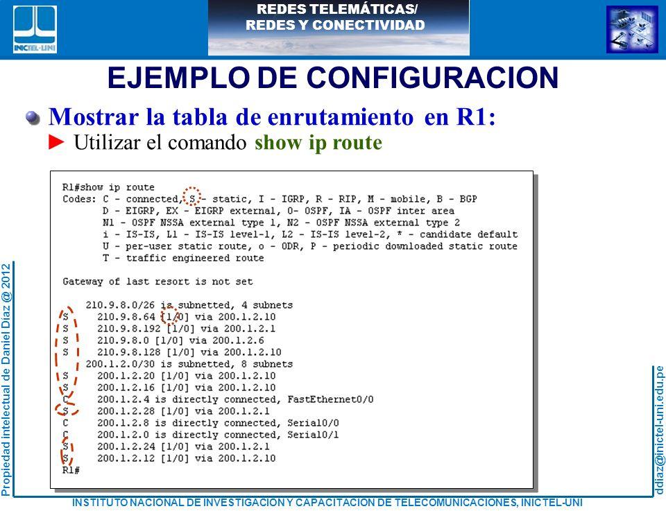 EJEMPLO DE CONFIGURACION
