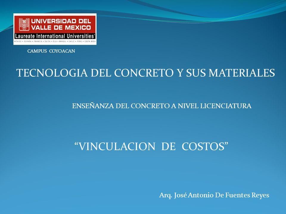 TECNOLOGIA DEL CONCRETO Y SUS MATERIALES