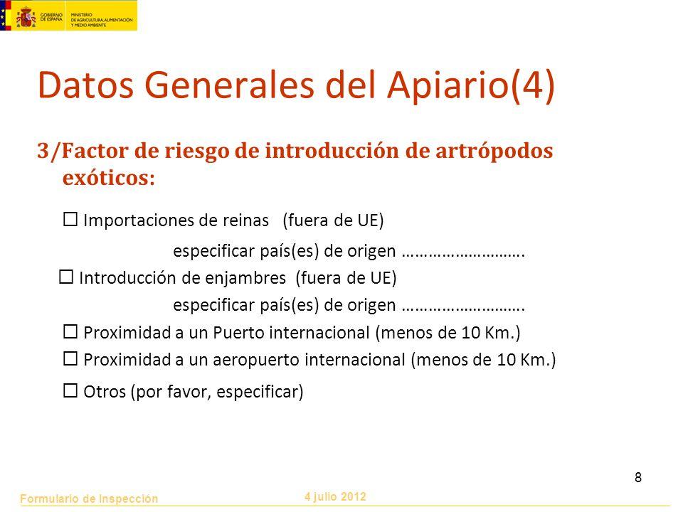 Datos Generales del Apiario(4)