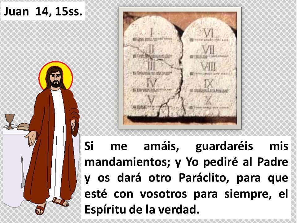 Juan 14, 15ss.