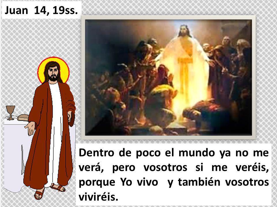 Juan 14, 19ss.