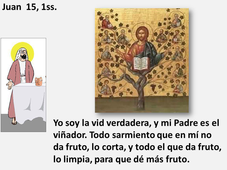 Juan 15, 1ss.