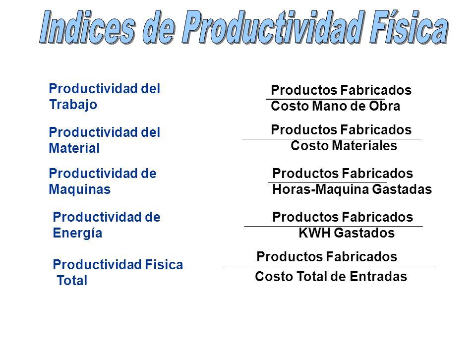 Indices de Productividad Física