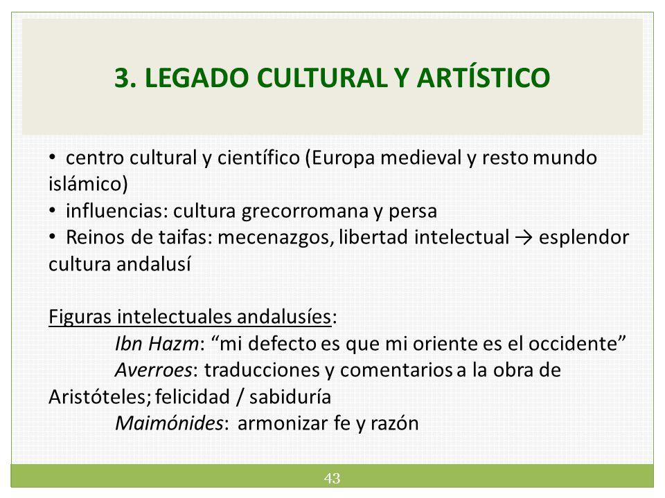 legado cultural y artstico