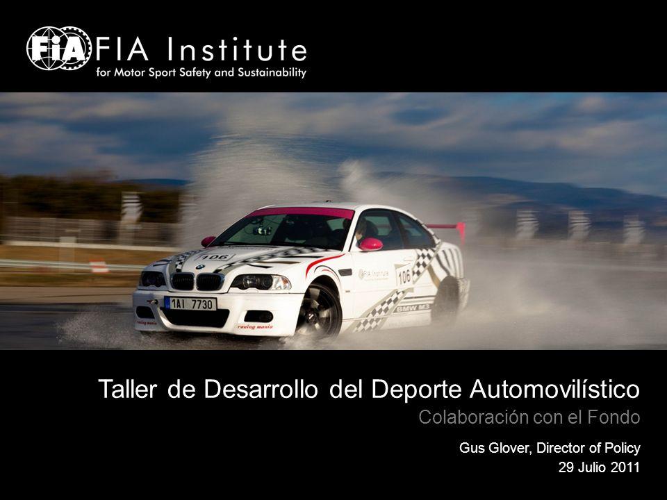 Taller de Desarrollo del Deporte Automovilístico