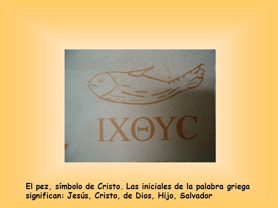 El pez, símbolo de Cristo