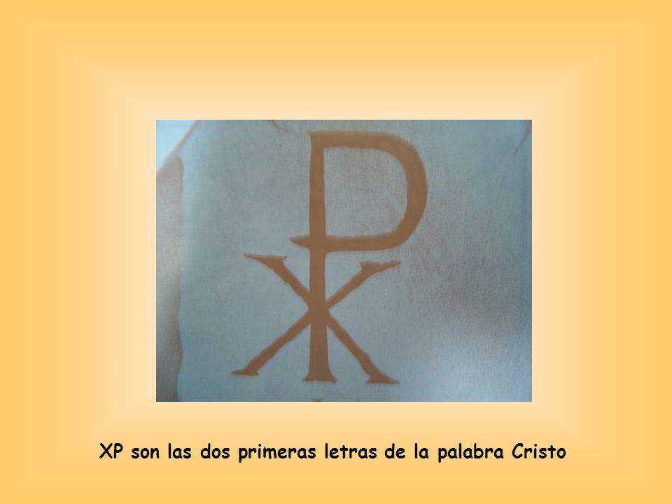 XP son las dos primeras letras de la palabra Cristo