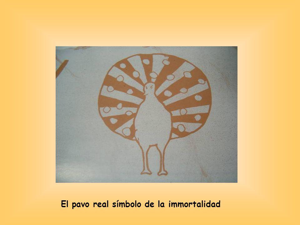 El pavo real símbolo de la immortalidad