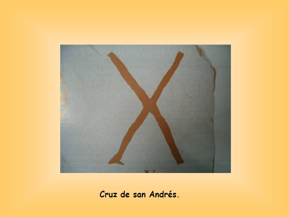 Cruz de san Andrés.