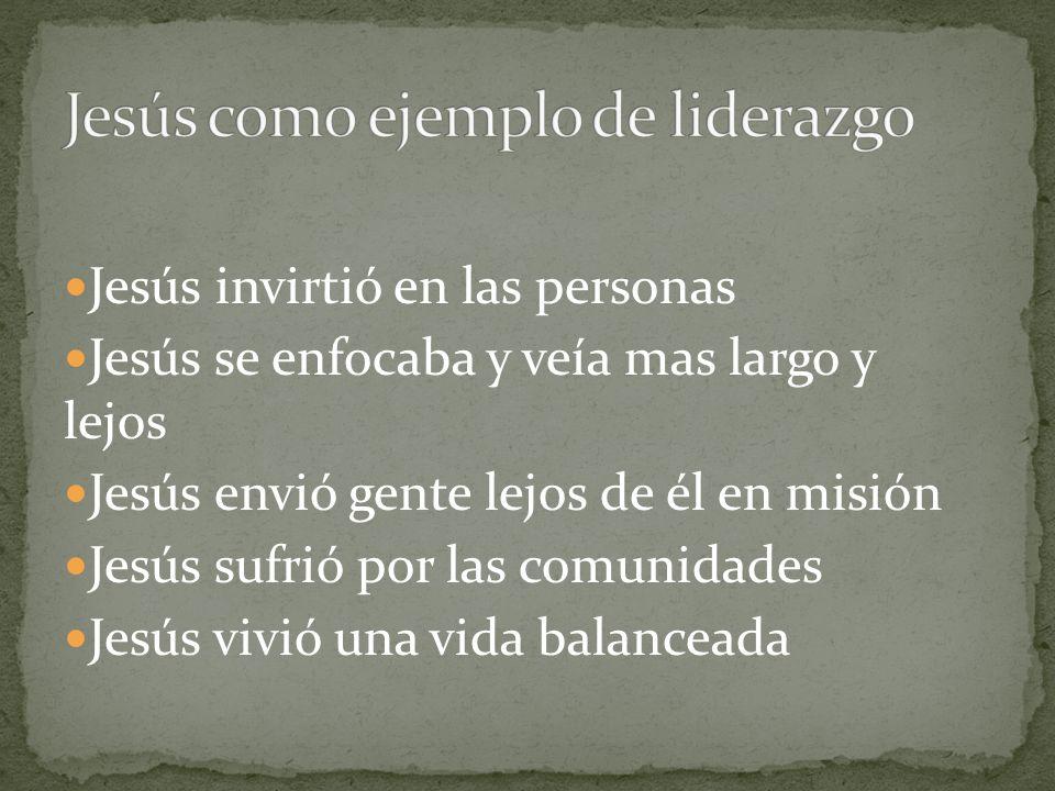 Jesús como ejemplo de liderazgo