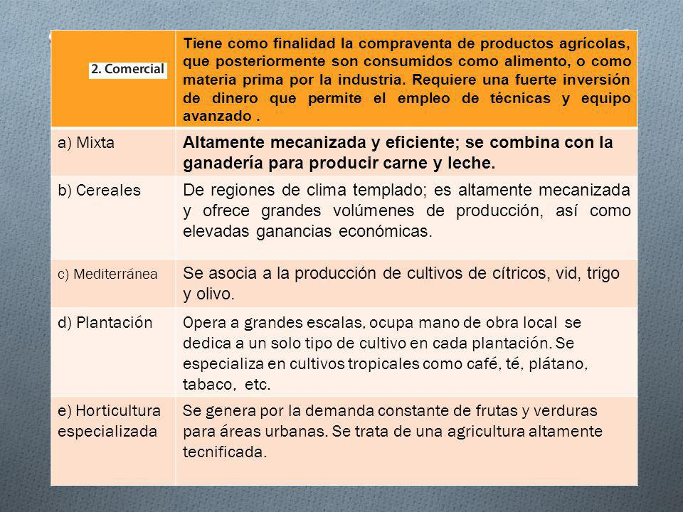 Se asocia a la producción de cultivos de cítricos, vid, trigo y olivo.