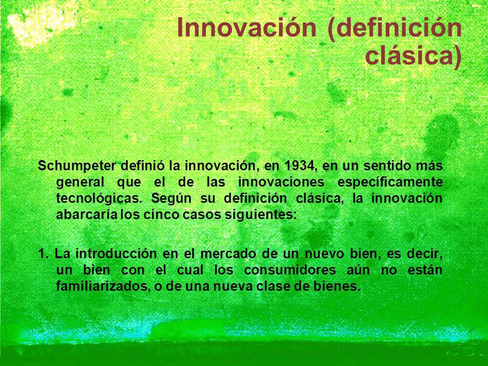 Innovación (definición clásica)