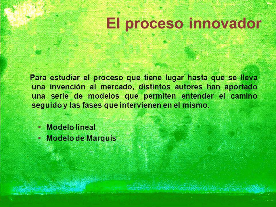El proceso innovador