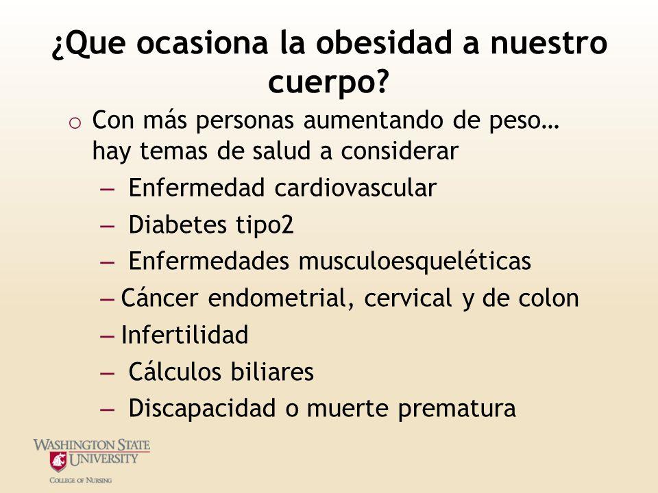 Obesidad Carrie Miller, MSN, RN, CNE - ppt descargar