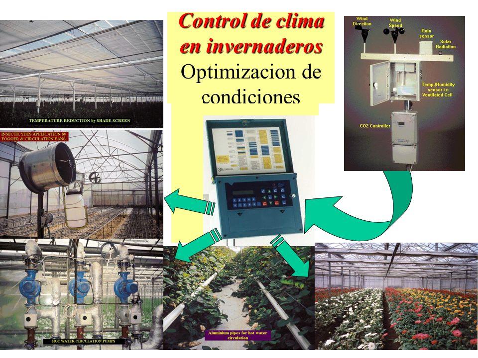 Control de clima en invernaderos Optimizacion de condiciones