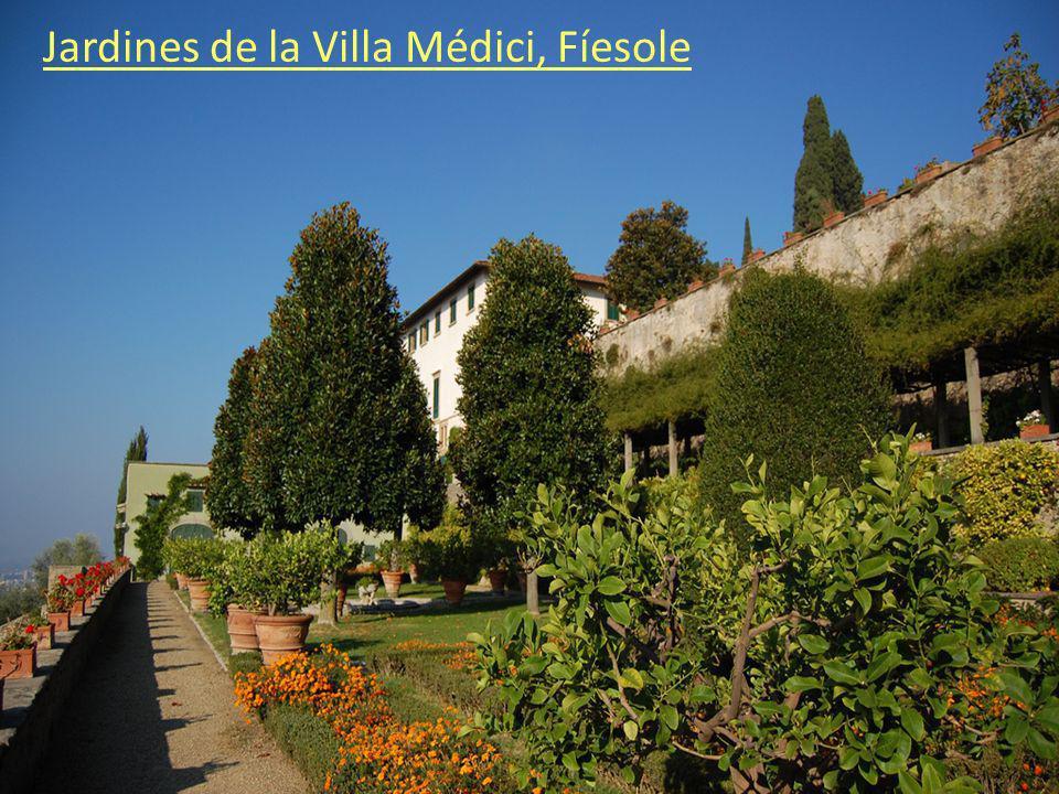 Jardines de la Villa Médici, Fíesole