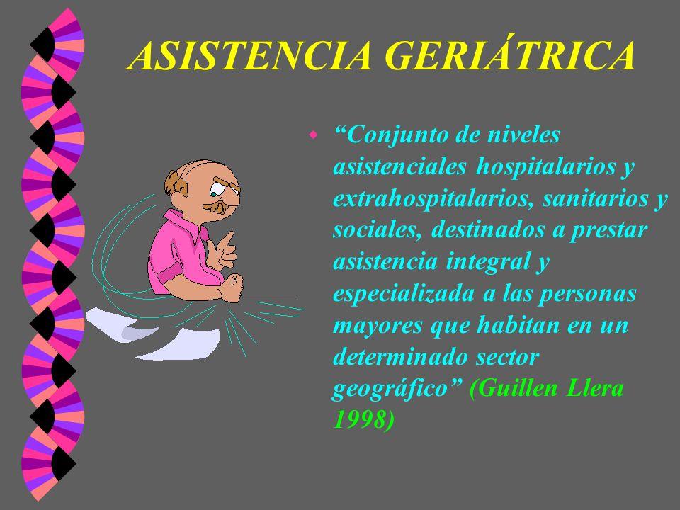 ASISTENCIA GERIÁTRICA