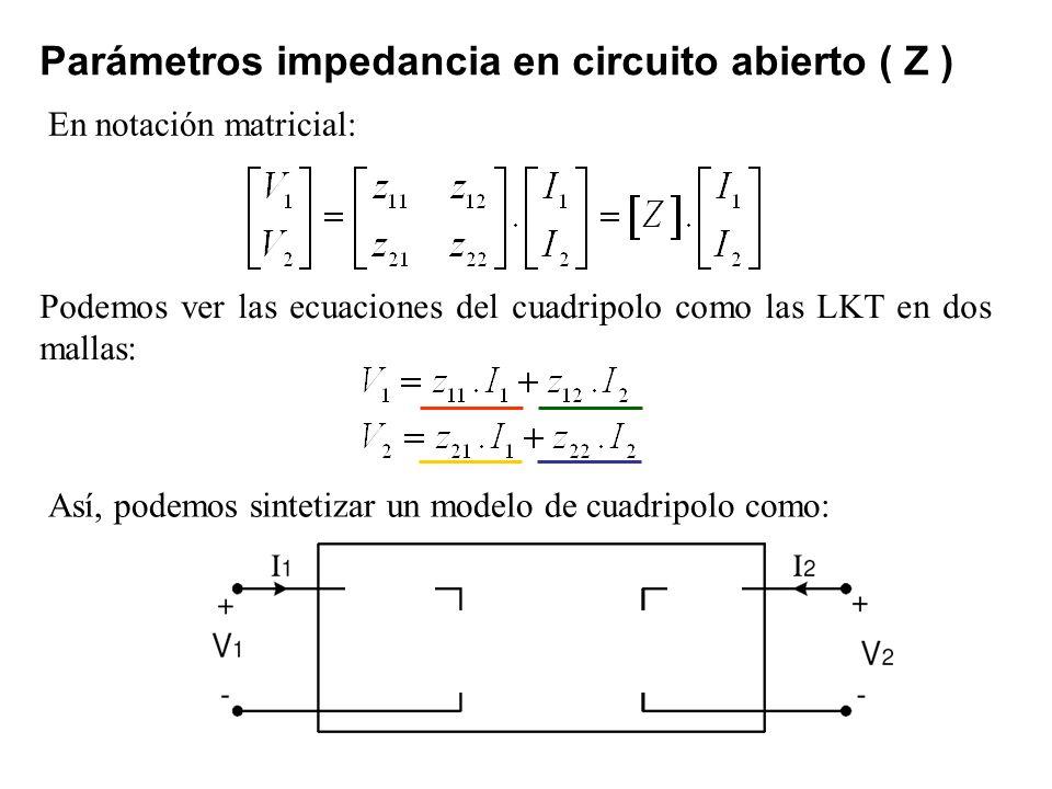 Circuito Z : Capitulo cuadripolos teoría de circuitos i ppt descargar