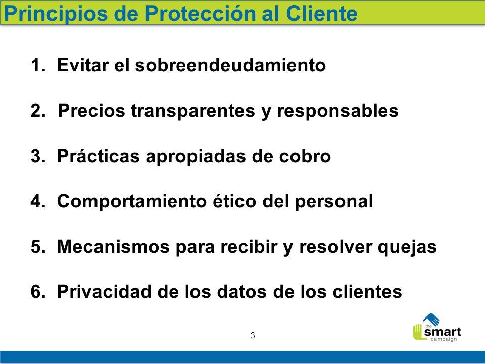 Principios de Protección al Cliente