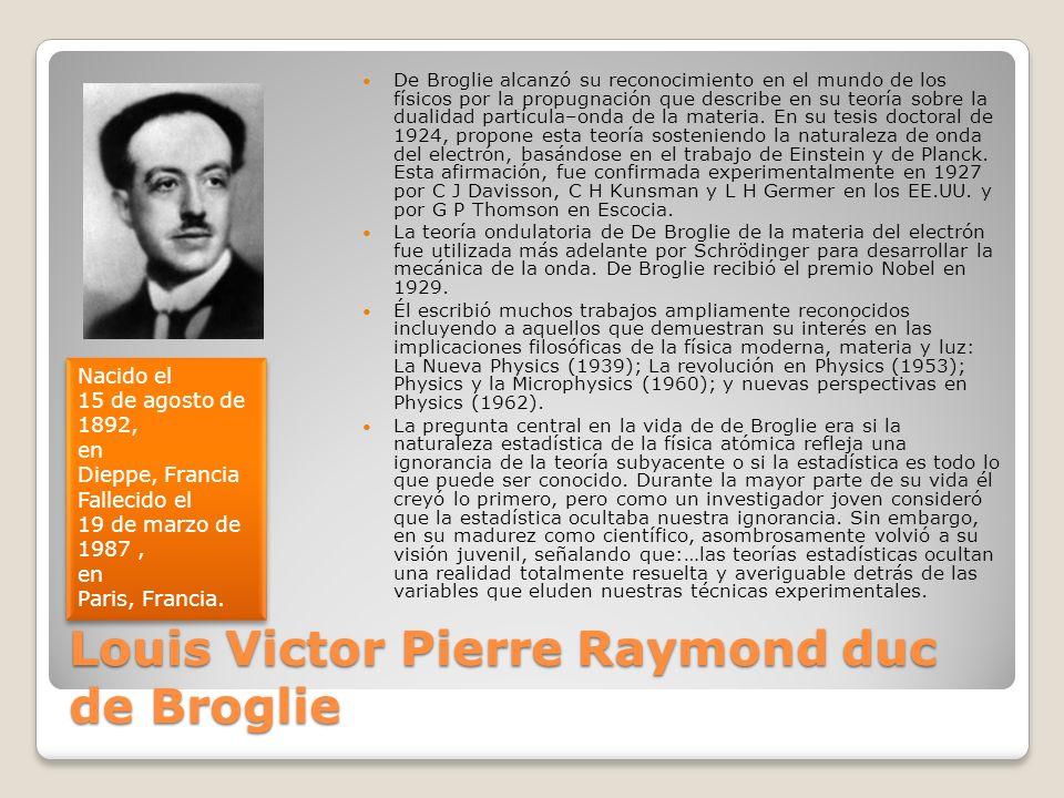 Louis Victor Pierre Raymond duc de Broglie