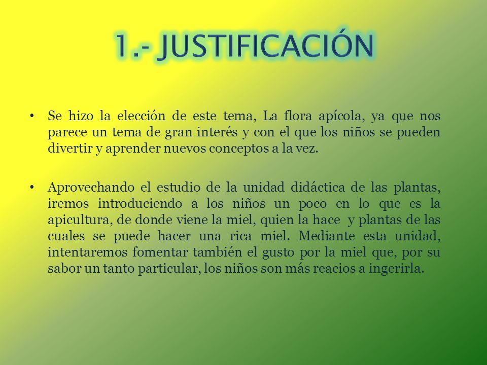 1.- JUSTIFICACIÓN