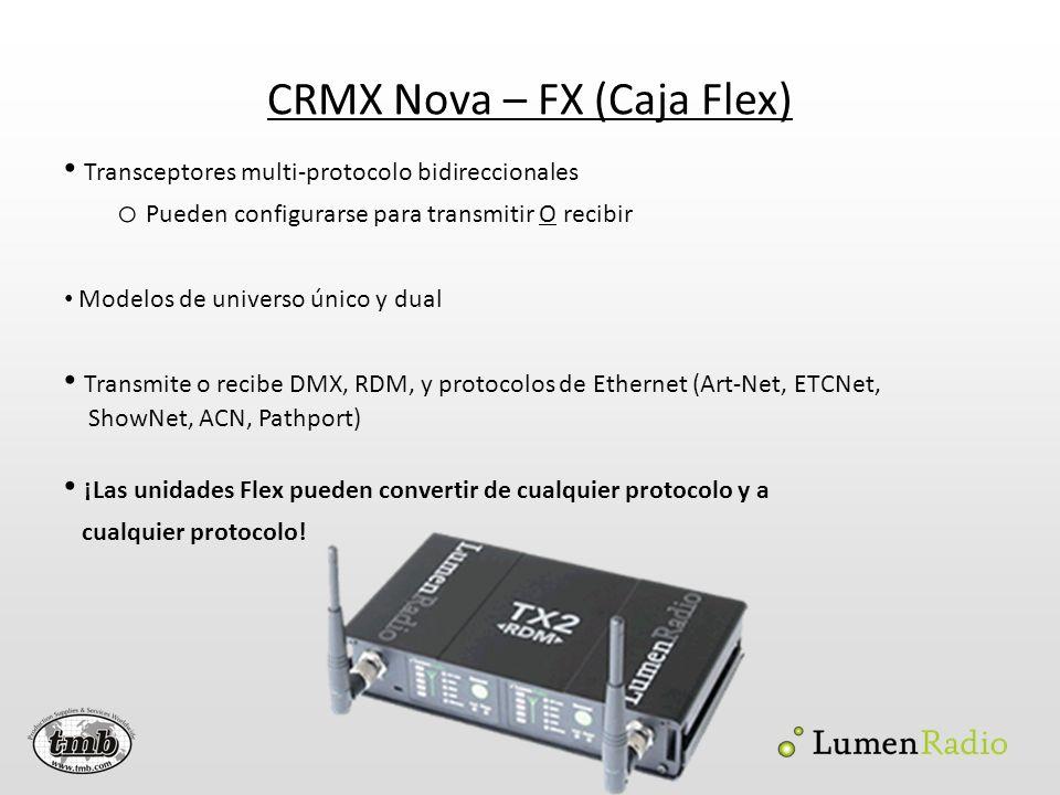 CRMX Nova – FX (Caja Flex)