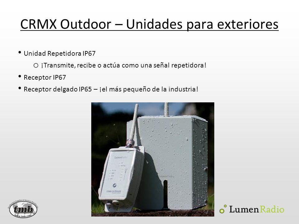 CRMX Outdoor – Unidades para exteriores