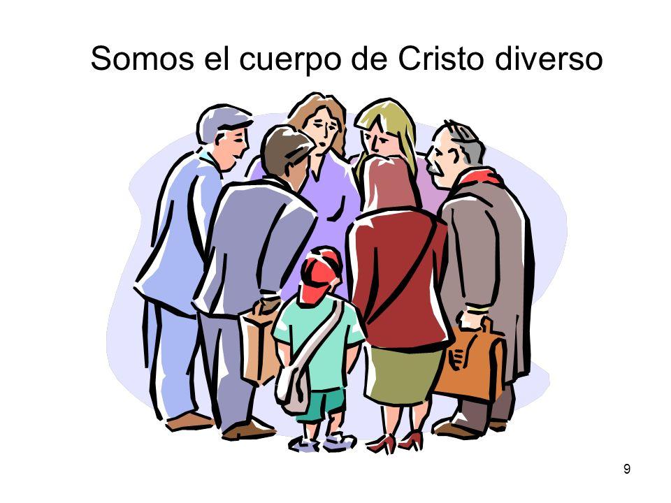 Somos el cuerpo de Cristo diverso