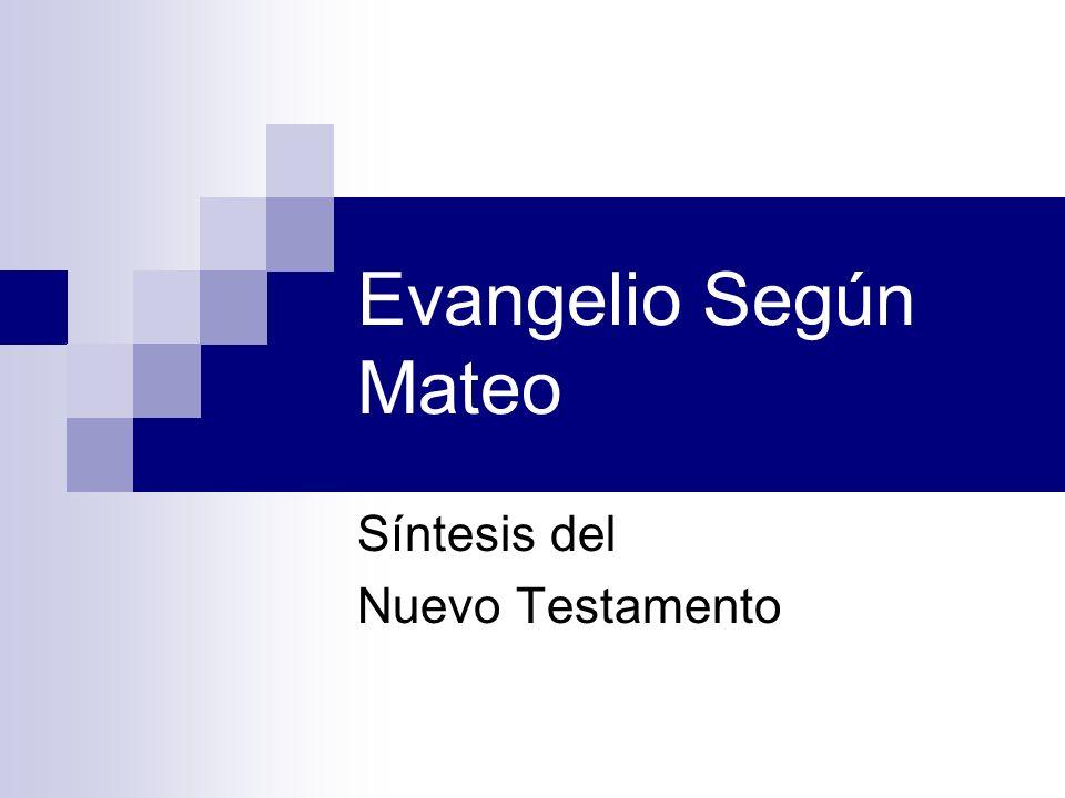 Síntesis del Nuevo Testamento
