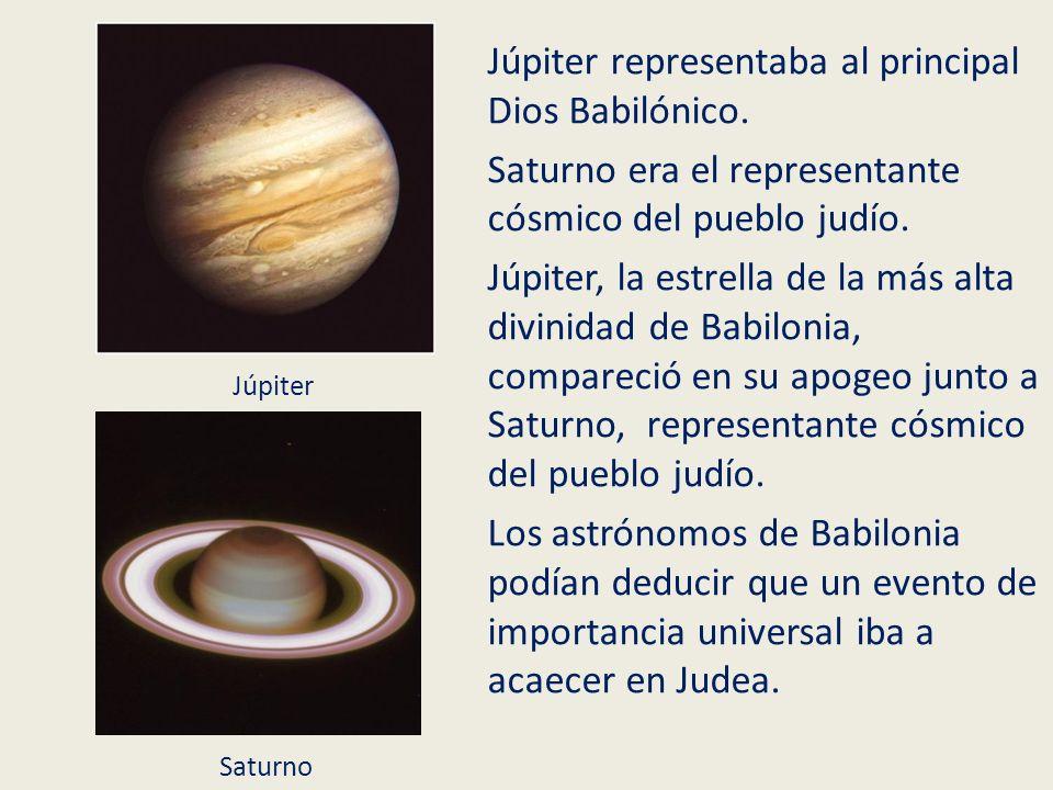Júpiter representaba al principal Dios Babilónico