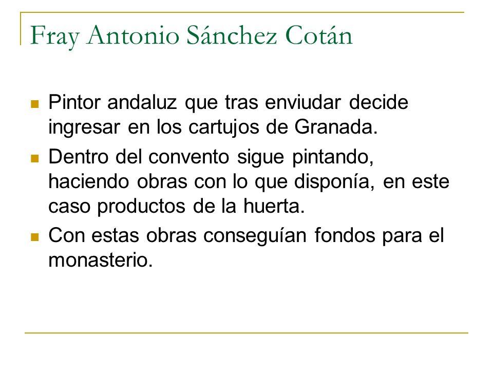 Fray Antonio Sánchez Cotán