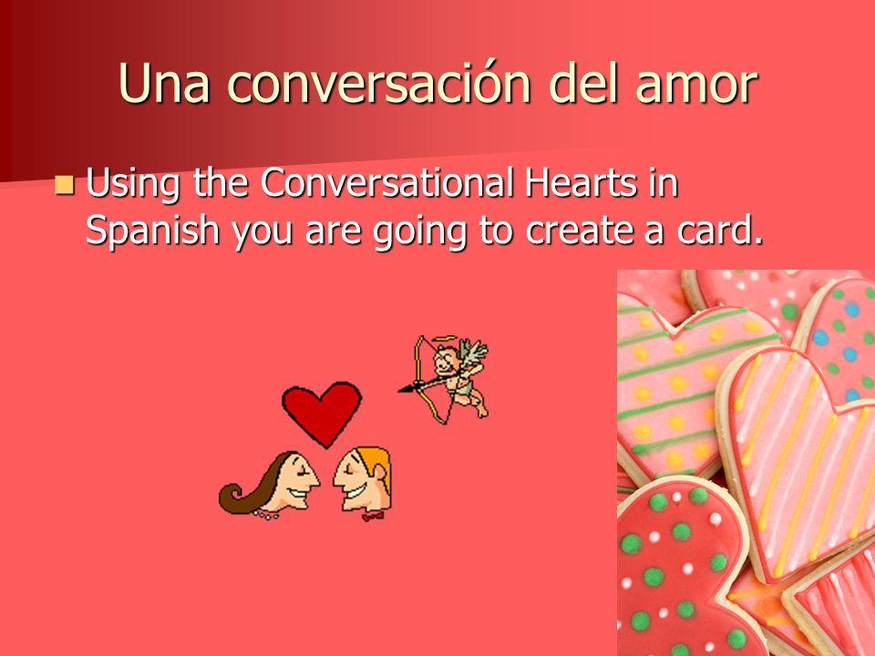 Una conversación del amor