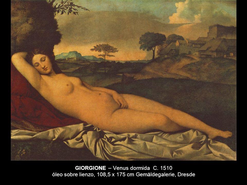 GIORGIONE – Venus dormida C